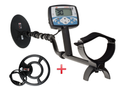 Minelab X-TERRA 705 Dual-Pack Metal Detector with 2 Coils