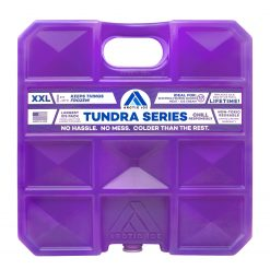 Arctic Ice Tundra Series Ice Pack - Long Lasting High Performance XX-Large (10 LBS) Ice Pack for Frozen Goods, Meat, Ice Cream, and More - Freezes at 5 Degrees