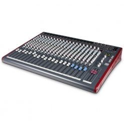Allen & Heath ZED-24 Small-Format 24-Channel Analog Mixer with USB Connection