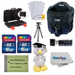 Accessory Bundle for Canon PowerShot SX740 Digital Camera