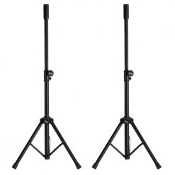 2x Ultimate Support JS-SP50 Subwoofer, Satellite Mounting Pole