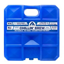 Arctic Ice Chillin' Brew Series Ice Pack - Long Lasting High Performance XX-Large (10 LBS) Ice Pack for Beer, Beverages, Tailgating, Day Trips and More - Freezes at 28 Degrees