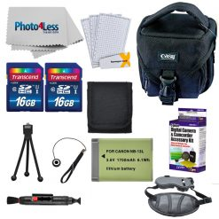 Accessory Bundle for Canon PowerShot SX740 Digital Camera