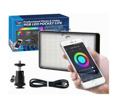 Vidpro 152 LED RGB Color Pocket Light