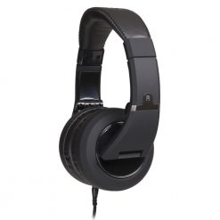 CAD Audio Closed-back Studio Headphones - 50mm Drivers- Black - Two Cables, Two Sets Earpads