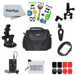 Exclusive Father's Day Bundle-  Variety of Action Accessories Compatible With GoPro Hero 4