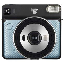 Fujifilm Instax Square SQ6 Aqua Blue Instant Camera
