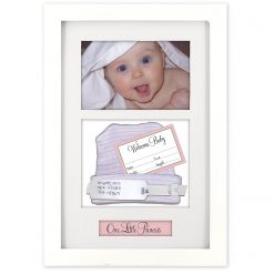 Malden International Designs, Baby Memories Momento Picture Frame, White, 4X6