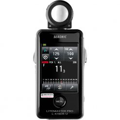 Sekonic LiteMaster Pro L-478DR-U Light Meter for PocketWizard System