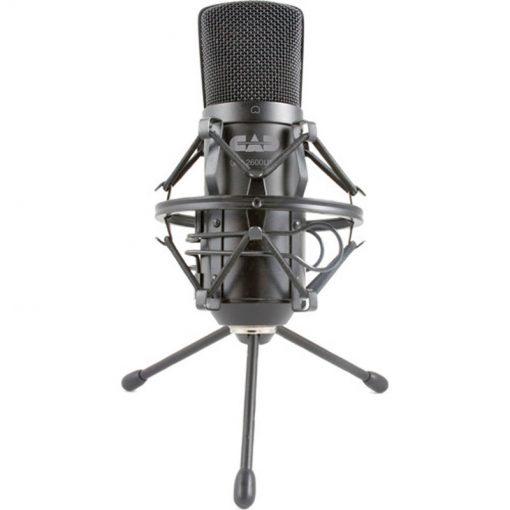 Cad Audio GXL2600USB Premium USB Large Diaphragm Cardoid Condenser Microphone With 10′ USB Cable