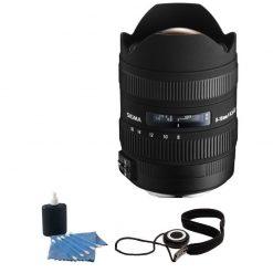 Sigma 8-16mm f/4.5-5.6 DC HSM FLD AF Lens for Canon DSLR Cameras + Accessories