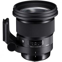 Sigma 105mm f/1.4 DG HSM Art Lens for Nikon F (Black)
