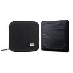 WD 1TB My Passport Wireless Pro USB 3.0 External Hard Drive + Case