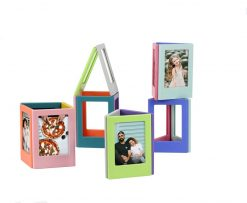 Caiul Plastic Magnetic Photo Frame For Mini Film Assorted Colors