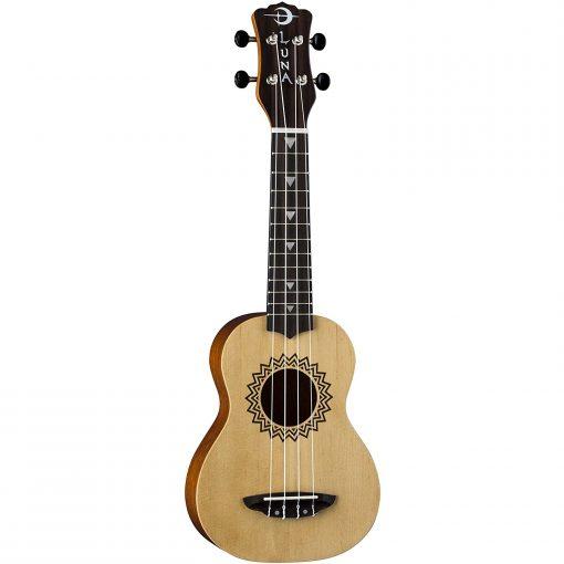 Luna Guitars Uke Vintage Spruce Soprano