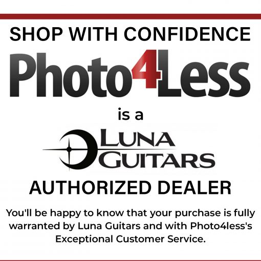 Luna Guitars Uke Flamed Acacia Soprano w/Gigbag