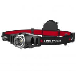 LEDLENSER H3.2 LED Headlamp, 3x AAA Batteries, 120 Lumens, Black (Gift Box)