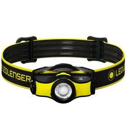 LEDLENSER iH5R High Power LED Lightweight Rechargeable (or AA Alkaline Batteries) Headlamp, 400 Lumens