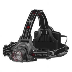 LED Lenser - H14R.2 Rechargeable Headlamp, Black