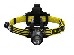 LEDLENSER iLH8 Focusing Headlamp, High Power LED, 280 Lumens, Black & Yellow (Box)