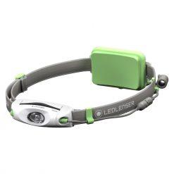 LEDLENSER NEO6R Rechargeable Headlamp, 240 Lumens, Green - 880460 (Peg Window Box)
