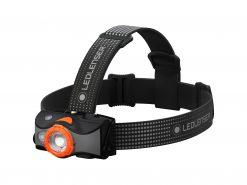 LEDLENSER MH7 Rechargeable Headlamp, High Power LED, 600 Lumens – Black & Orange (Peg Window Box)