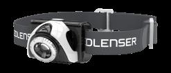 LEDLENSER SEO5.2 LED Headlamp, 180 Lumens with Red Light Mode, Gray (Box)