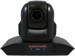 HuddleCamHD 10X 1080p PTZ Camera with Built-in Audio, Black