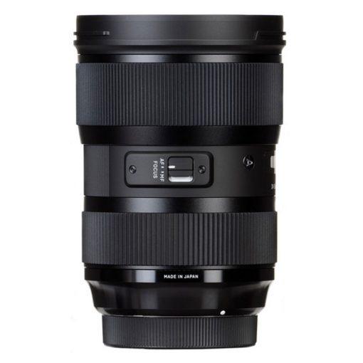 Sigma 24-35mm F2.0 Art DG HSM Lens for Canon + 64GB Card + 82mm Filter + Tripod