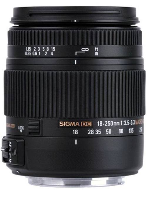 Sigma 18-250mm F3.5-6.3 DC Macro OS HSM for Canon EF Mount + Basic Accessory Kit