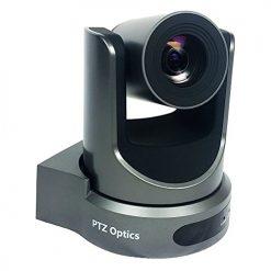 PTZoptics 20x-USB Video Conferencing Camera, Gray