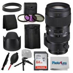 Sigma 693954 50-100mm f1.8 DC HSM Standard Zoom Lens for Canon EF