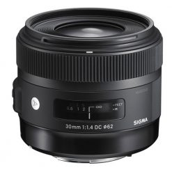 Sigma 30mm f/1.4 DC HSM Art Lens for Canon(301101)