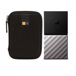 WD 2TB My Passport USB 3.1 Gen 2 External SSD + Case