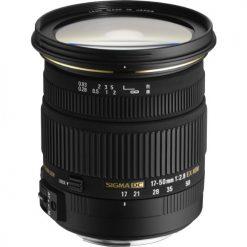 Sigma 17-50mm f/2.8 EX DC OS HSM FLD Large Aperture Standard Zoom Lens for Canon Digital DSLR Camera(583101)