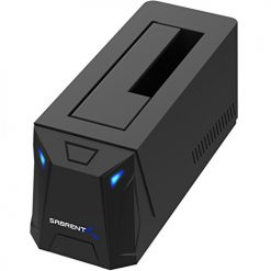 "Sabrent USB 3.0 to SATA External Hard Drive Docking Station for 2.5"" or 3.5""' HDD, SSD"