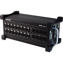 Allen & Heath AB168 Portable AudioRack 16 x 8 Audio Interface Stage Box for GLD and Qu Digital Mixing Systems