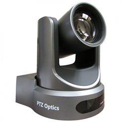 PTZOptics 12X-USB Video Conferencing Camera, Gray