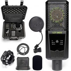 Lewitt Cardioid Condenser Mic w/0 dB Self-Noise + XLR Mic Cable + On Stage Pop Filter