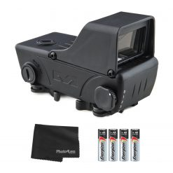 MEPROLIGHT RDS Electro-Optical Reflex Red Dot Sight + 4 Additional AA Batteries & Lens Cloth
