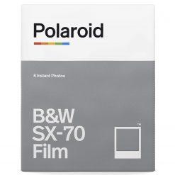 Polaroid B&W Film for SX-70 (8 Sheets)