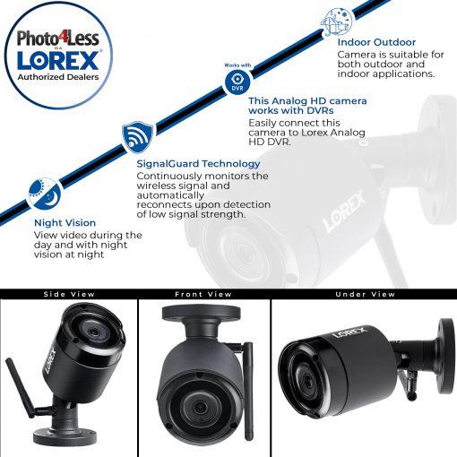 2 Lorex LW4211 1080p HD Add-On Indoor/Outdoor (Wireless) Security Cameras