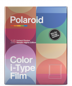 Polaroid Color film for I-Type-Metallic Nights Edition - Double Pack