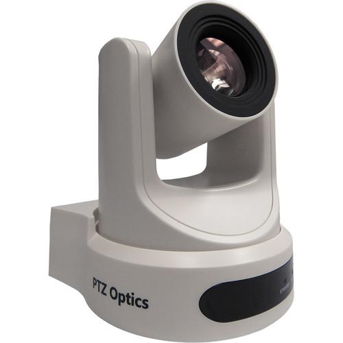 PTZOptics 30X SDI Geb 2 Live Streaming Broadcast Camera, White+ Slik Aluminum Tripod