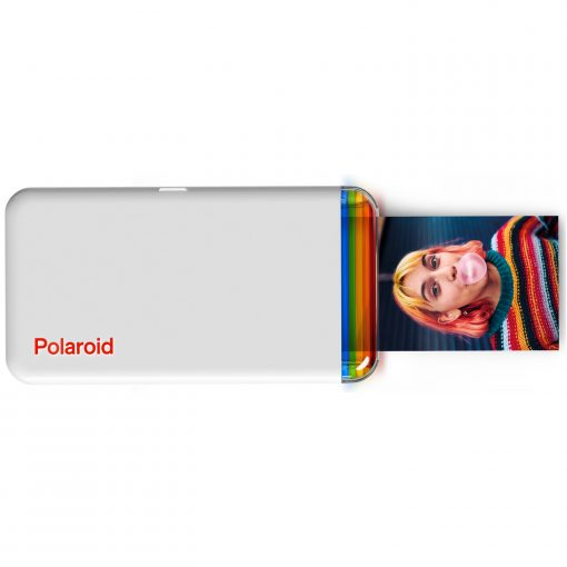 "Polaroid Hi-Print 2x3 Pocket Photo Printer + Polaroid 2"" x 3"" Premium ZINK Borderless Photo Paper - 20 sheets 2 Pack"