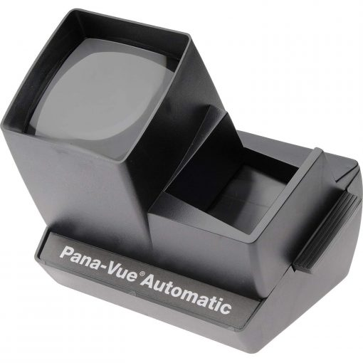 Pana-Vue 6566 Automatic Slide Viewer + Dust Blower + Cleaning Pen + Cloth