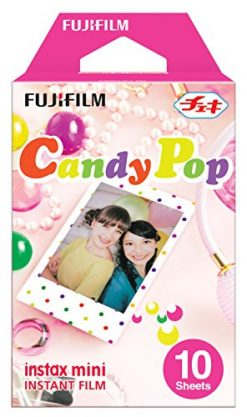 Fuji Instax Mini Instant Films - Candy Pop (10 Sheets)