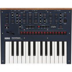 Korg Monologue Monophonic Analog Synthesizer with Presets -Blue (MONOLOGUEBL)