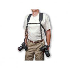 Op/Tech Dual Harness, Regular, 3/8, Black, 6501032
