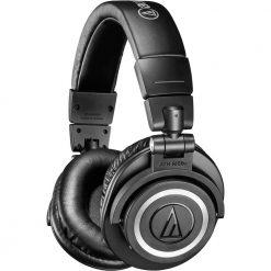 Audio-Technica ATH-M50xBT Wireless Bluetooth Over-Ear Headphones